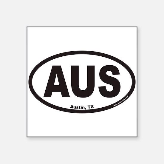 """Cute Aus Square Sticker 3"""" x 3"""""""