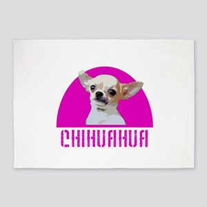 Chihuahua Dog 5'x7'Area Rug