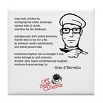 Off Beat Cinema Coffee #1 Tile Coaster