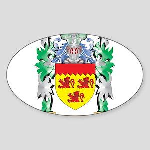 Fishelzon Coat of Arms (Family Crest) Sticker