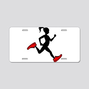 fitness Aluminum License Plate