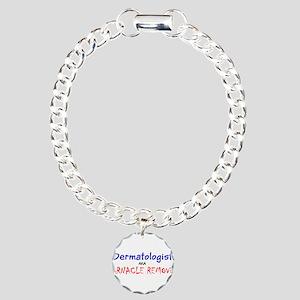 Dermatologist AKA Barnac Charm Bracelet, One Charm