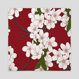 Cherry Blossoms Queen Duvet