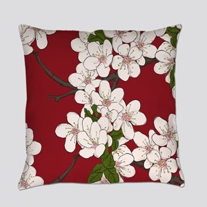 Cherry Blossoms Everyday Pillow