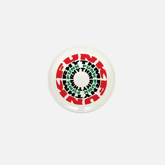 Funk Rhythm Funk Funk Rhythm Mini Button