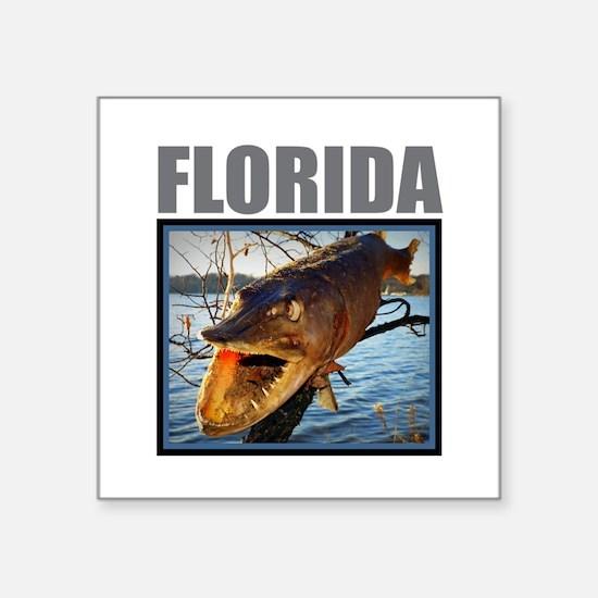 Florida - Fish in a Tree Sticker
