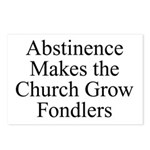 Abstinence Postcards (Package of 8)
