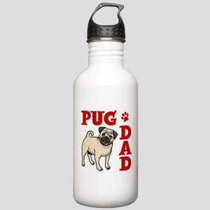 PUG DAD Stainless Water Bottle 1.0L
