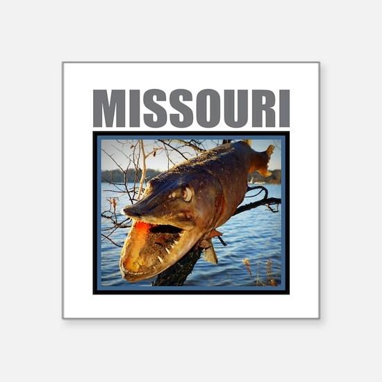 Missouri - Fish in a Tree Sticker