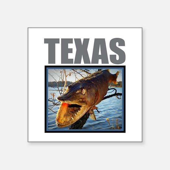 Texas - Fish in Tree Sticker