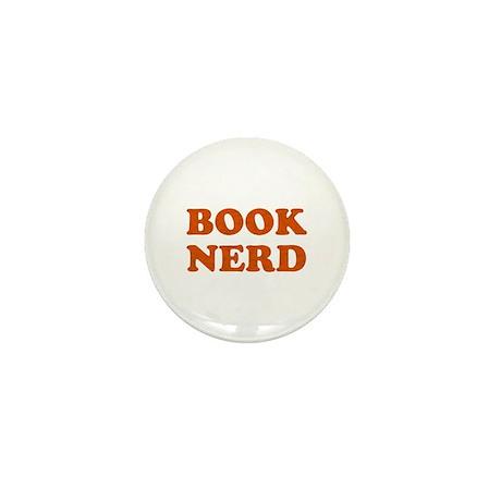Book Nerd Mini Button
