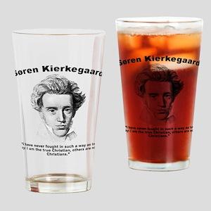 Kierkegaard Christian Drinking Glass