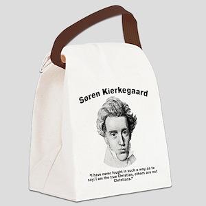 Kierkegaard Christian Canvas Lunch Bag