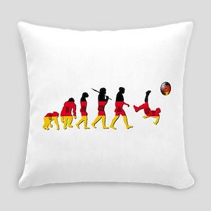 German Football Evolution Everyday Pillow