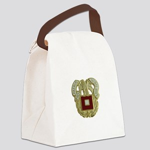 US Army Signal Corps Canvas Lunch Bag