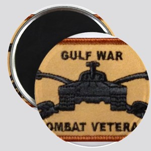 Gulf War Armored Cavalry Combat Veteran Magnets