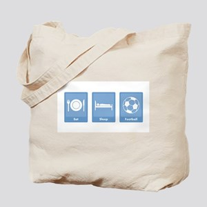 Eat Sleep Football Tote Bag