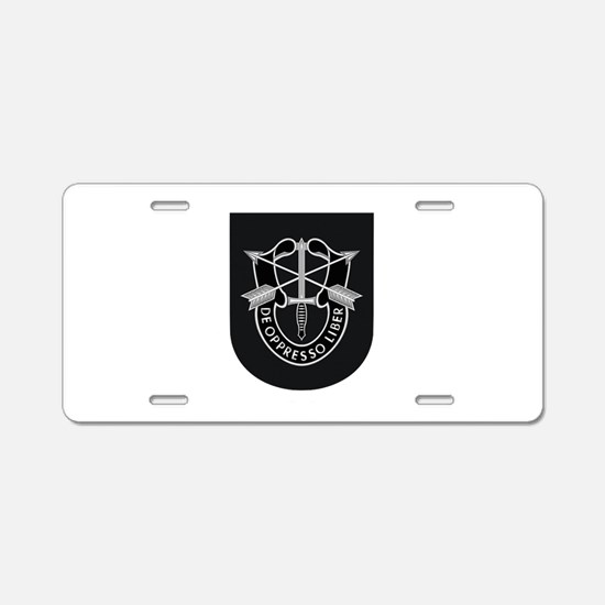 Special Forces Liberator Aluminum License Plate