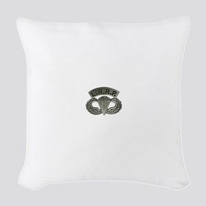 L.R.R.P. jump wings Woven Throw Pillow