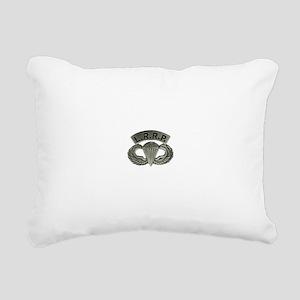 L.R.R.P. jump wings Rectangular Canvas Pillow