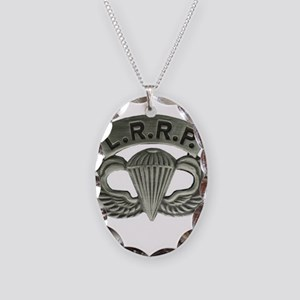 L.R.R.P. jump wings Necklace Oval Charm