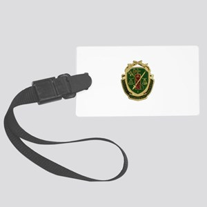Military Police Crest Large Luggage Tag