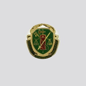 Military Police Crest Mini Button