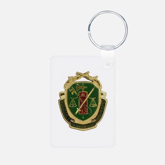 Military Police Crest Keychains