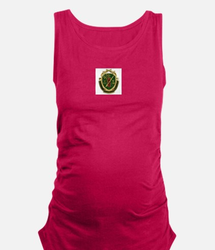 Military Police Crest Maternity Tank Top