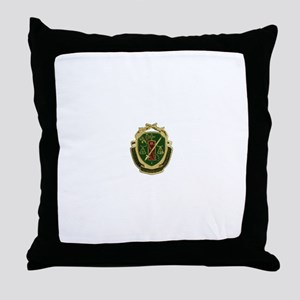Military Police Crest Throw Pillow