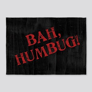 Bah Humbug 5'x7'Area Rug