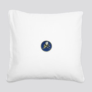 Seabees Square Canvas Pillow