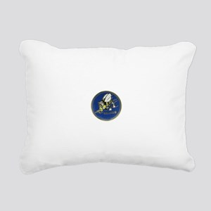Seabees Rectangular Canvas Pillow