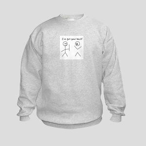 I've Got You Back Kids Sweatshirt