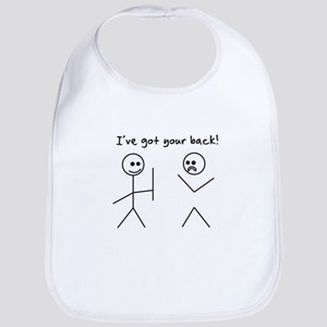 I've Got You Back Bib