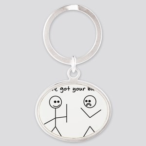 I've Got You Back Keychains