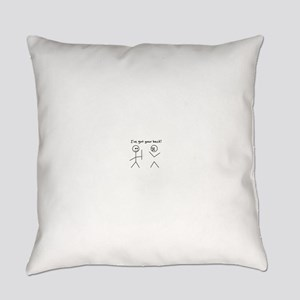I've Got You Back Everyday Pillow