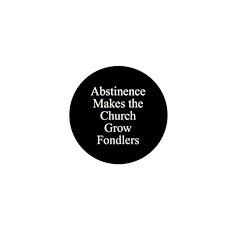 Abstinence Mini Button