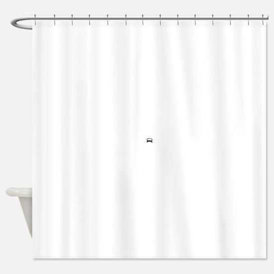 BLKBELT2.JPG Shower Curtain