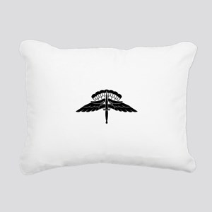 HALO Jump Wings Rectangular Canvas Pillow