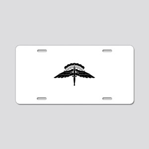 HALO Jump Wings Aluminum License Plate