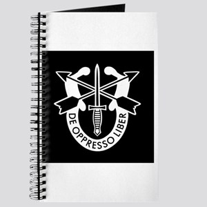 US Army Special Forces SF Green Beret Journal