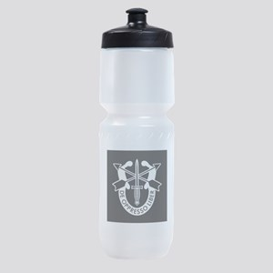 US Army Special Forces SF Green Bere Sports Bottle