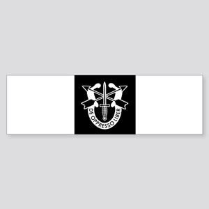 US Army Special Forces SF Green Ber Bumper Sticker