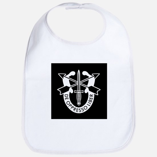 US Army Special Forces SF Green Beret Bib