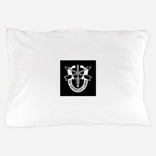 US Army Special Forces SF Green Beret Pillow Case