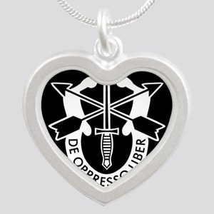 US Army Special Forces SF Green Beret Necklaces