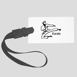 Karate 1 Large Luggage Tag