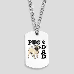 PUG DAD Dog Tags