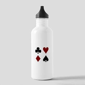 Poker 4 Stainless Water Bottle 1.0L